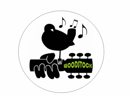 Woodstock Button