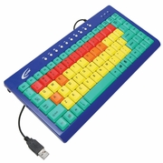 Califone-Kids Computer Wired Keyboard