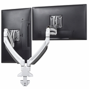 """Chief Kontour K1D220 Dynamic Desk Clamp Dual Monitor Mount <font color=""""red""""><b>See All Colors</b></font>"""