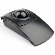 Clearly Superior Technologies PC-Trac Ergonomic<br> Trackball Mouse- Black