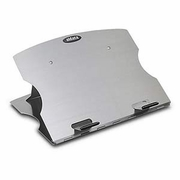 Folding Aluminum Laptop Stand W/ Swivel Base