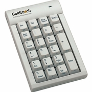 Goldtouch Numeric Keypad for MAC - White