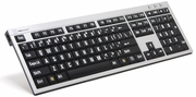 LogicKeyboard XLPrint PC Slim Line Wired Keyboard. <font color=red>See all models</font>