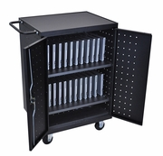 Luxor Computer, Chromebook, and Tablet Charging Cart 12, 18, or 24 Devices
