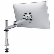 Monitor Desk Mount w/ Dual-Segment Articulating Arm for Flat Screens for Apple