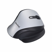 Newtral Ergonomic Wireless Silver/Black Mouse