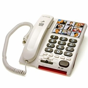 Serene Innovations HD-40S Amplified Photo Phone with Speakerphone