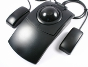 Switch Adapted Ergonomic Trackballs W/ Superior-X Button Control and Optional External Buttons