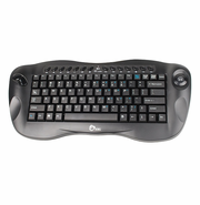 Wireless Mini Keyboard with Optical Trackball