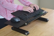 WorkEZ Keyboard Tray Riser and Mouse Combo