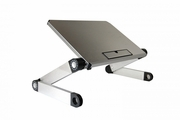 WorkEZ Light Ergonomic Laptop Stand - Silver