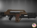 Aliens Pulse Rifle Brown Bess