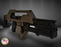 Aliens Pulse Rifle Weathered Brown Bess