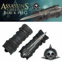 Assassins Creed IV Black Flag Hidden Blade & Gauntlet With Skull Buckle