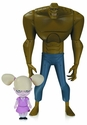Batman Animated New Batman Adventure Killer Croc With Baby Doll Action Figure