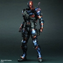 Batman Arkham Origins Play Arts Kai Deathstroke Action Figure