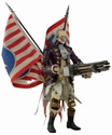 Bioshock Infinite Heavy Hitter Benjamin Franklin Action Figure