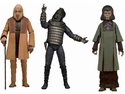 Classic Planet of The Apes 7 Inch Series 2 Action Figure Set of 3