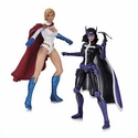 DC Comics Power Girl and Huntress Action Figure 2-Pack