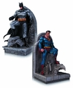 DC Comics Superman & Batman Bookends