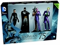 Dc Masterpiece Fig Coll Mag #1 Batman 75Th Anniversary Set