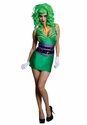 DC Supervillians Joker Ladies Costume