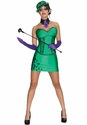 DC Supervillians Riddler Ladies Costume
