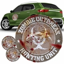 FanWraps Zombie Hunting Unit Gray
