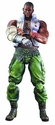 Final Fantasy Advent Children Barret Wallace Play Arts Kai Action Figure
