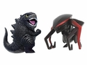 Godzilla 2014 Movie Chibi Fist Up Figure 2-Pack