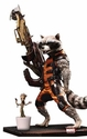 Guardians Of The Galaxy Rocket Raccoon Action Hero Vignette