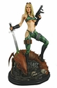Heavy Metal Alien Marine Girl Statue