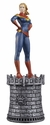 Marvel Chess Figure Coll Mag #14 Captain Marvel White Queen