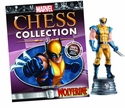 Marvel Chess Figure Coll Mag #3 Wolverine White Knight