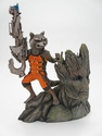 Marvel Guardians of the Galaxy Rocket Raccoon & Groot ArtFx Statue