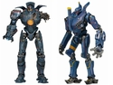 Pacific Rim Anchorage Attack Gypsy Danger & Romeo Blue Series 5 Jaeger Action Figures