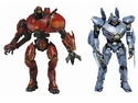 Pacific Rim Series 1 Essential Jaegers  Crimson Typhoon Striker Eureka 7 Inch Action Figure Set