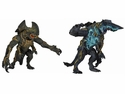 Pacific Rim Series 3 Ultra Deluxe Kaiju Aciton Figure Set of 2