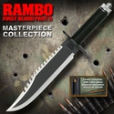 Rambo First Blood Part II Standard Edition Bowie Knife