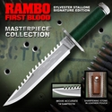 Rambo First Blood Stallone Signature Edition Bowie Knife