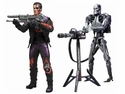 Robocop Vs Terminator 7 Inch Series 1 Terminator Video Game Action Figure Set