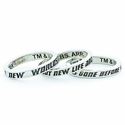Star Trek Intro Boldly Go Sterling Silver Stacker Ring