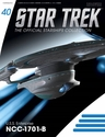 Star Trek Starships Fig Mag #40 Uss Enterprise Ncc-1701B