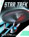 Star Trek Starships Figure Coll Mag #2 USS Enterprise NCC-1701