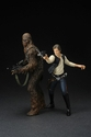 Star Wars Han Solo & Chewbacca A New Hope ArtFX+ Statue