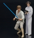 Star Wars Luke Skywalker & Princess Leia ArtFx+ Statue 2-Pack
