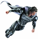 Superman Man of Steel Play Arts Kai Black Version Action Figure