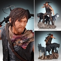Walking Dead Tv Daryl & The Wolves 1/8 Statue