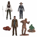 Walking Dead TV Series 7 Action Figure Set of 4