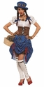 Wizard of Oz Steampunk Dorthy Adult Costume